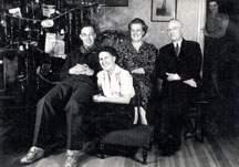 WH Gamblin and Family