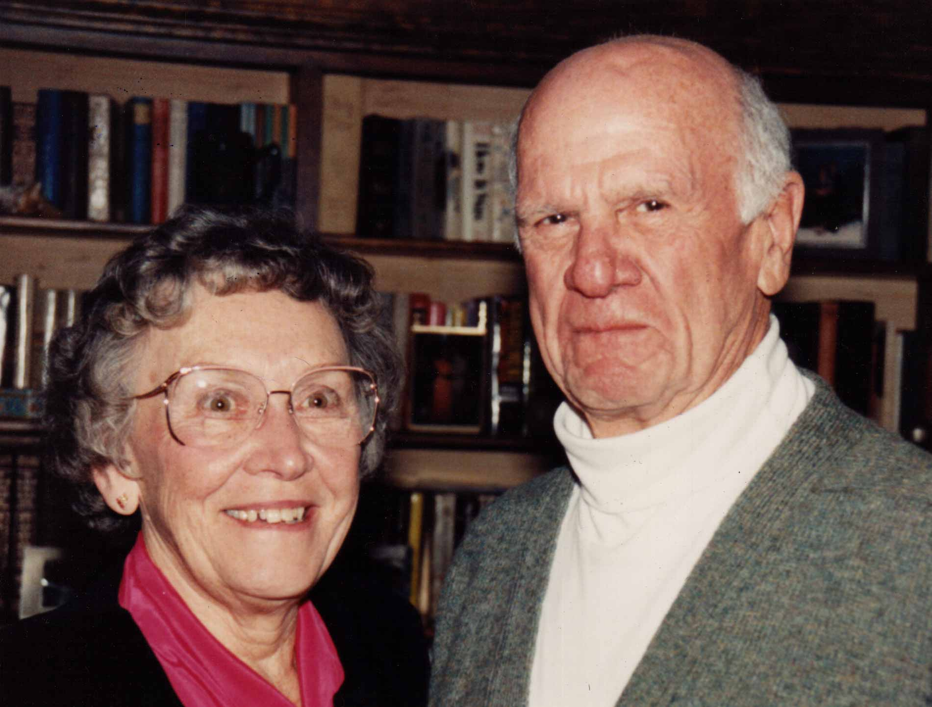 Thelma and Gilbert Fay in 1990